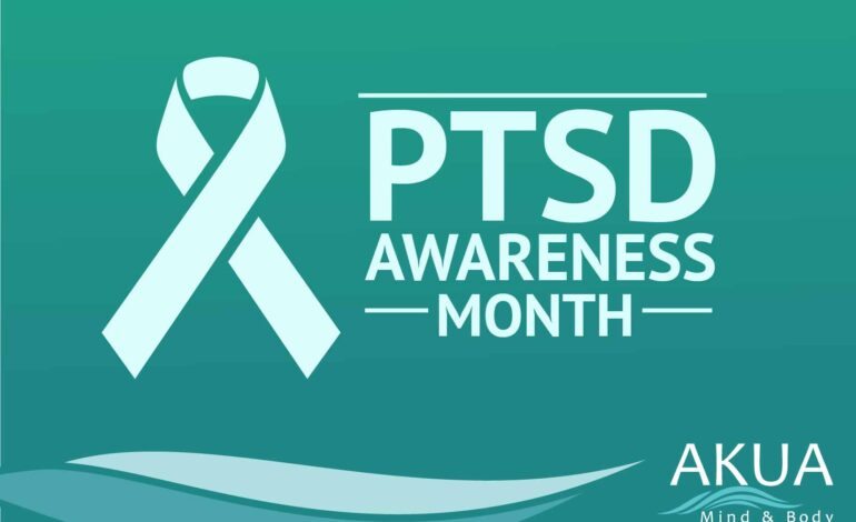 Post Awareness Month (PTSD)