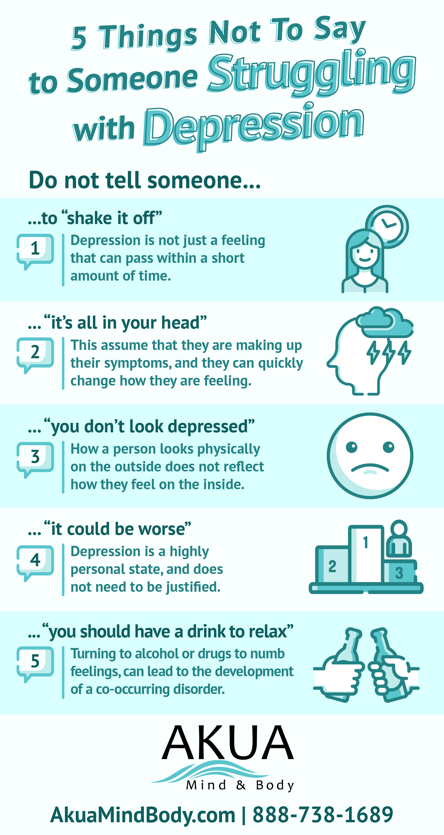 what to say to someone in depression