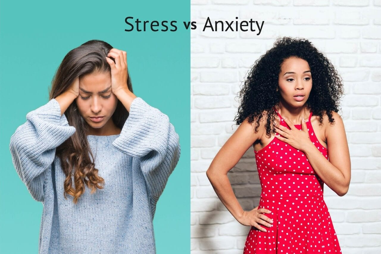 Difference Between Stress and Anxiety